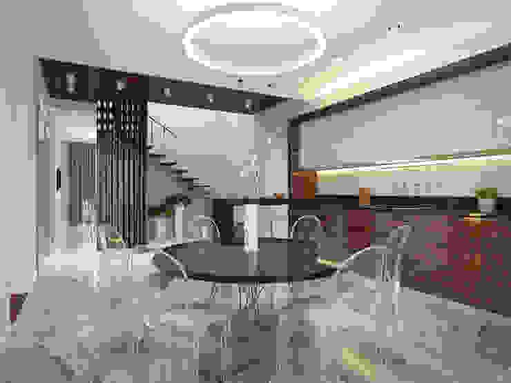 Minimalist kitchen by Архитектурно-строительное бюро ID Craft Minimalist