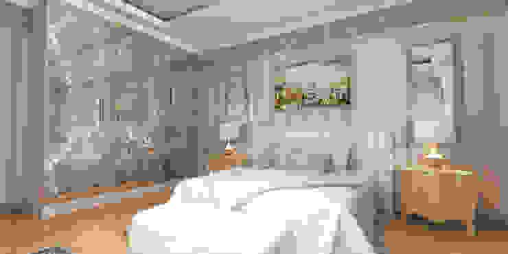 Благородная неоклассика Спальня в классическом стиле от Студия Маликова Классический