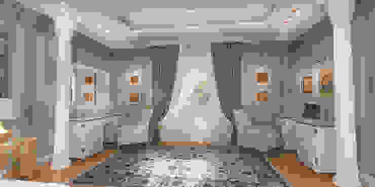 Благородная неоклассика Рабочий кабинет в классическом стиле от Студия Маликова Классический