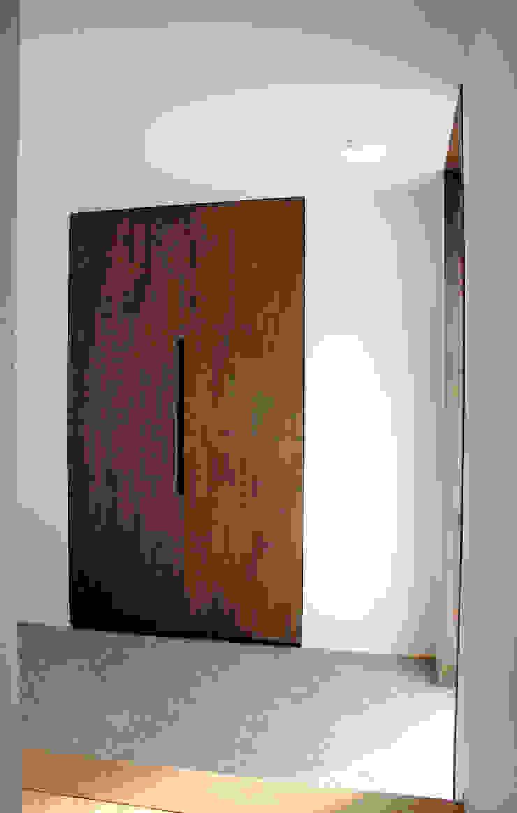 玄関収納ドア アジア・和風の 窓&ドア の 秀田建築設計事務所 和風