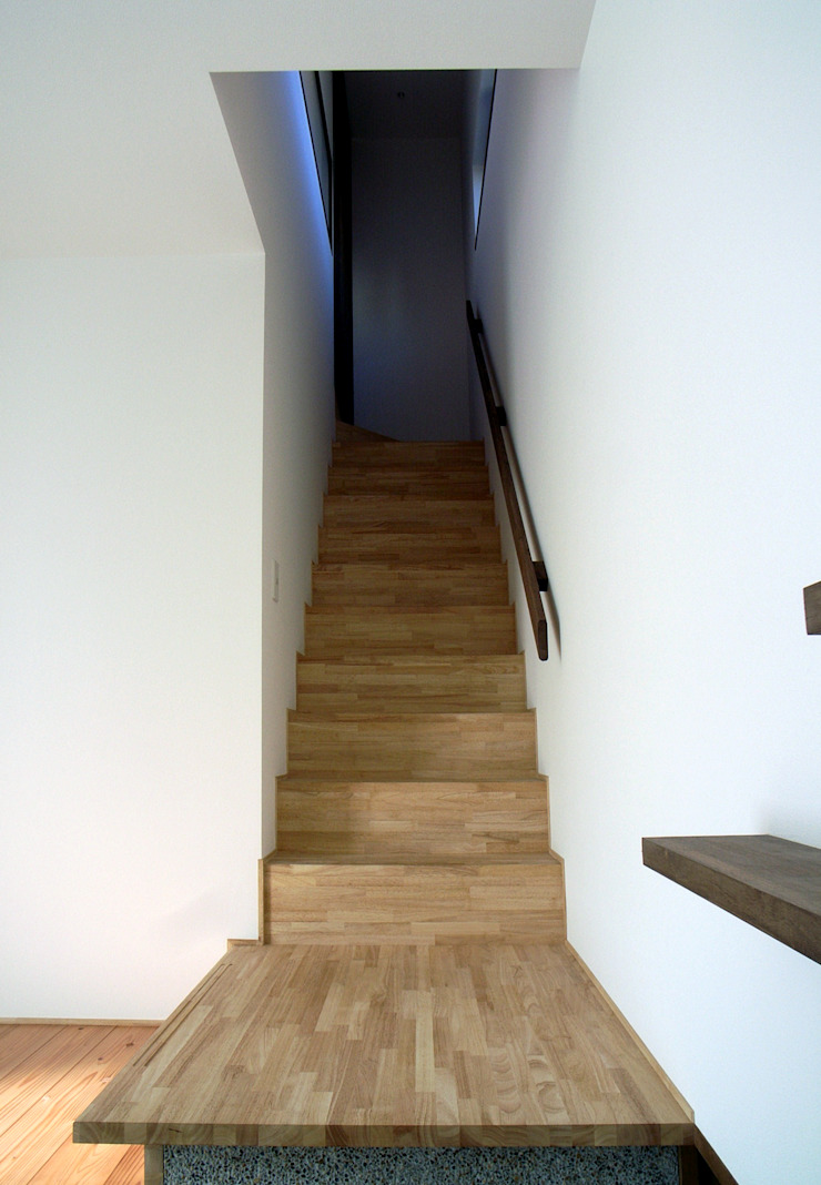 階段 和風の 玄関&廊下&階段 の 秀田建築設計事務所 和風