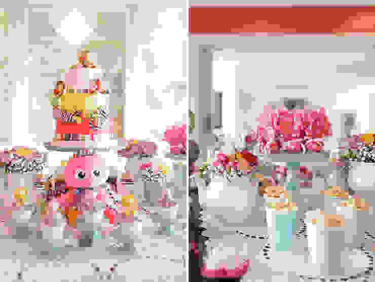 Detalhes da mesa dos doces. por Lima Limão- Festas com charme Moderno
