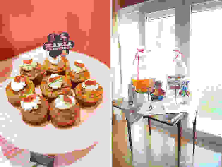 Deliciosos cupcakes salgados. por Lima Limão- Festas com charme Moderno