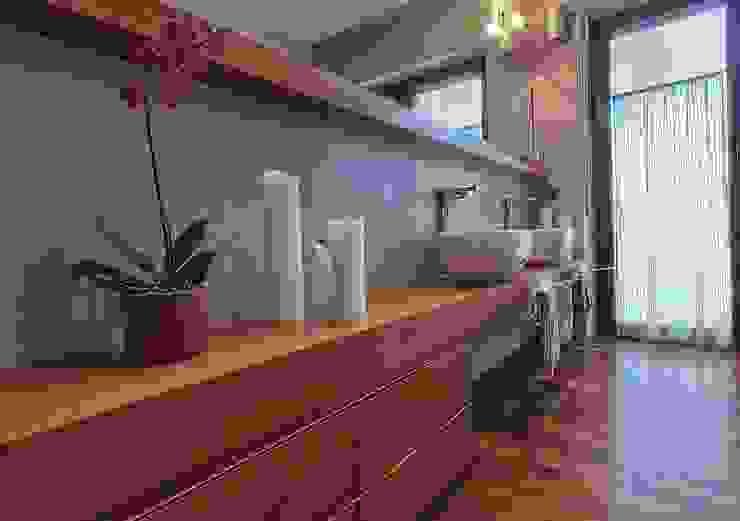 Private Flat APP_P_VA Bagno moderno di Diego Bortolato Architetto Moderno
