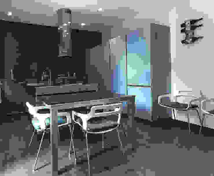 Private Flat APP_G_VA Sala da pranzo moderna di Diego Bortolato Architetto Moderno