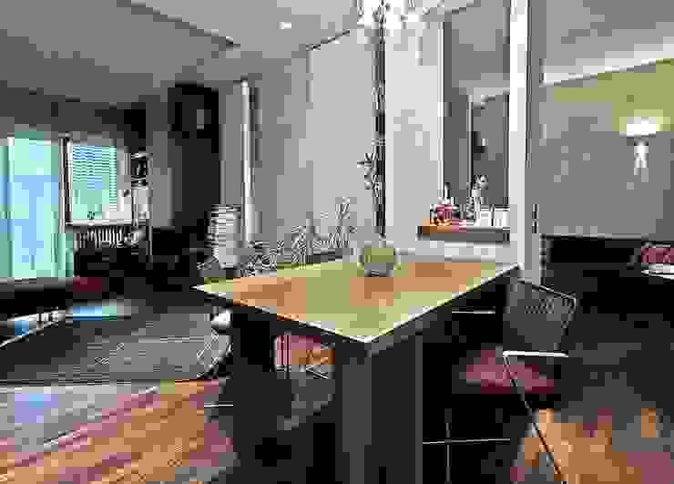 Private Flat APP_P_VA Studio moderno di Diego Bortolato Architetto Moderno