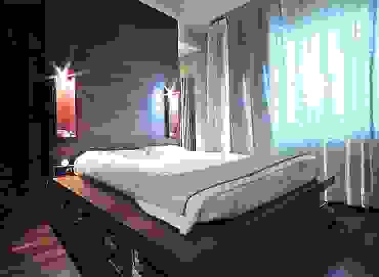 Private Flat APP_P_VA Camera da letto moderna di Diego Bortolato Architetto Moderno