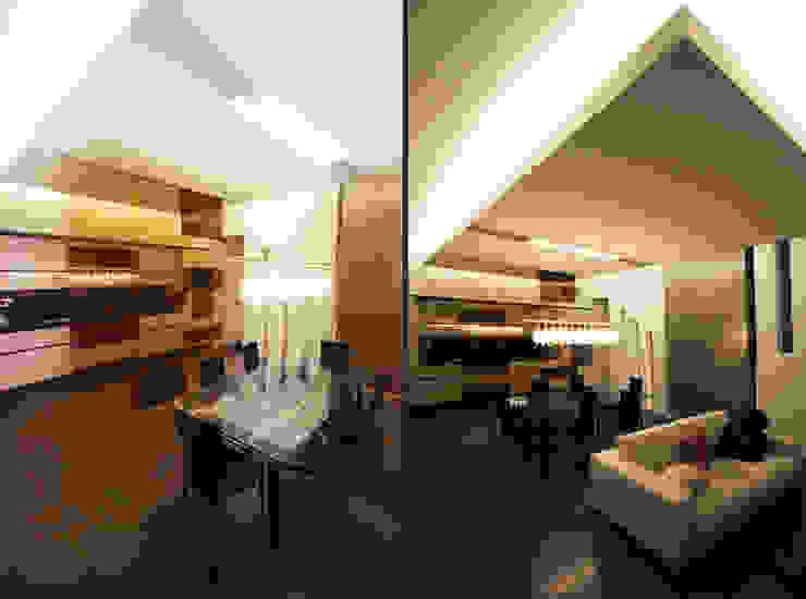 Private Flat APP_G_AL Sala da pranzo moderna di Diego Bortolato Architetto Moderno