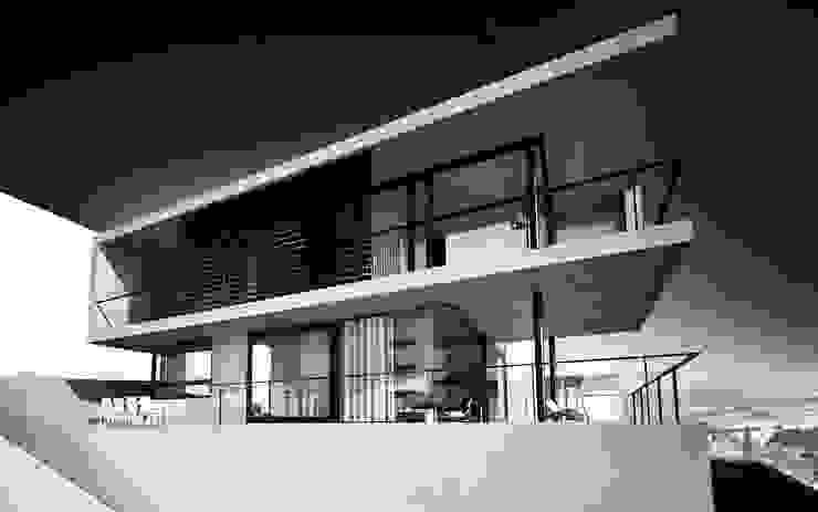 casa in calcestruzzo di fabio ferrini architetto Moderno