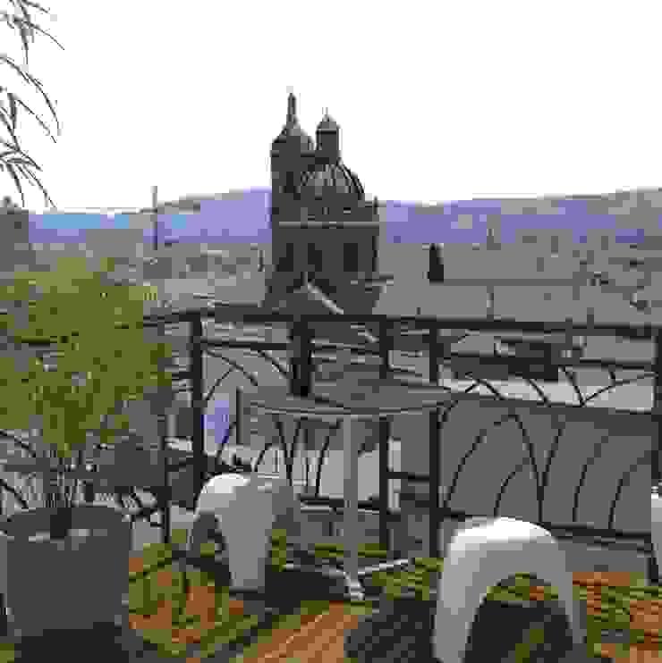 balcon - dessin 3D par Eclat d'Ambiance