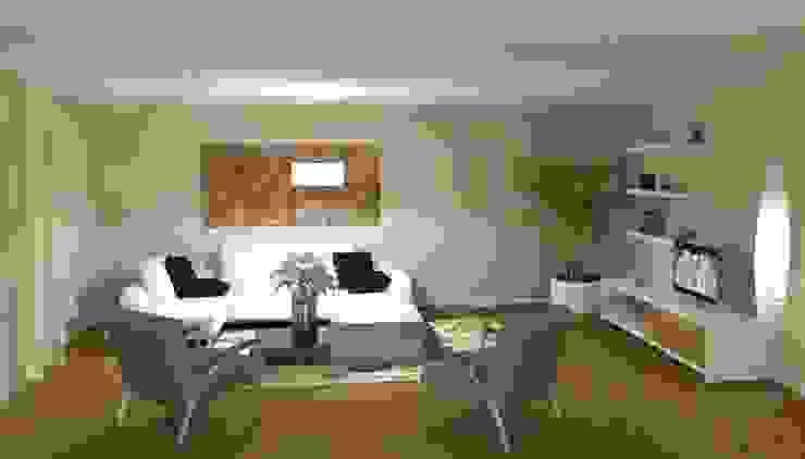 séjour - dessin 3D par Eclat d'Ambiance