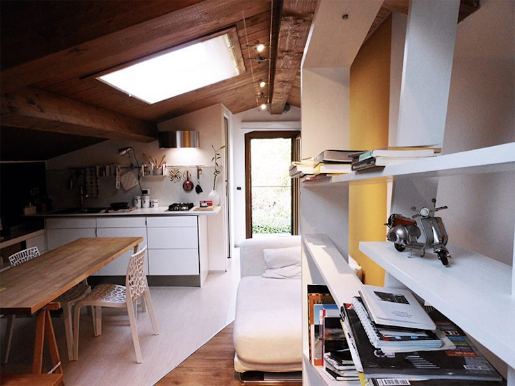 Modern Dining Room by Spazio 14 10 di Stella Passerini Modern