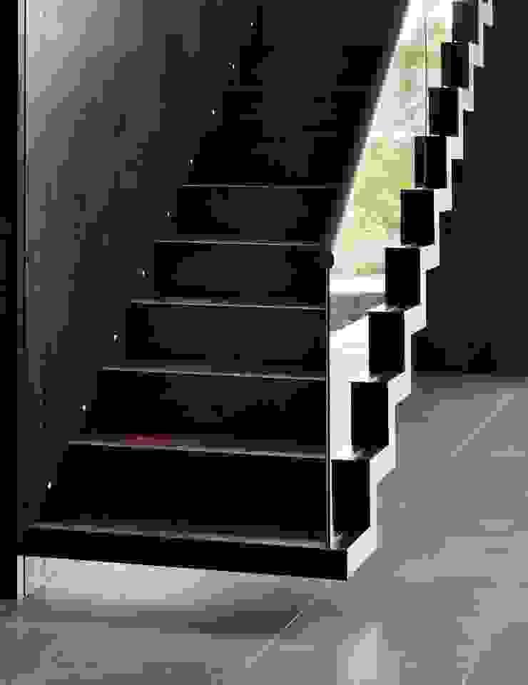 Berkshire 現代風玄關、走廊與階梯 根據 Gregory Phillips Architects 現代風