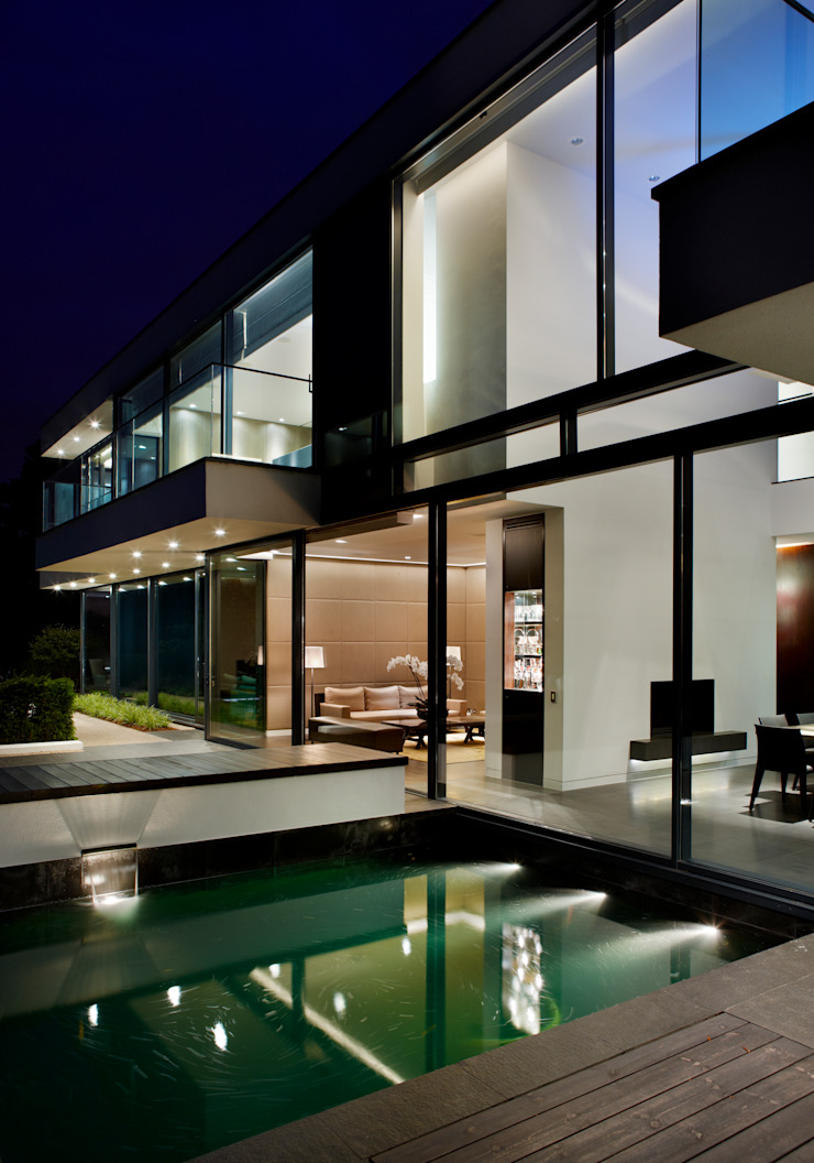 Berkshire Modern houses by Gregory Phillips Architects Modern
