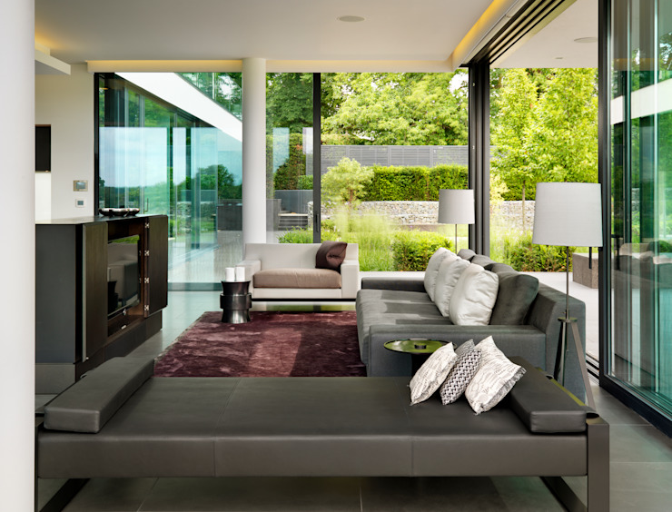 Berkshire Modern living room by Gregory Phillips Architects Modern