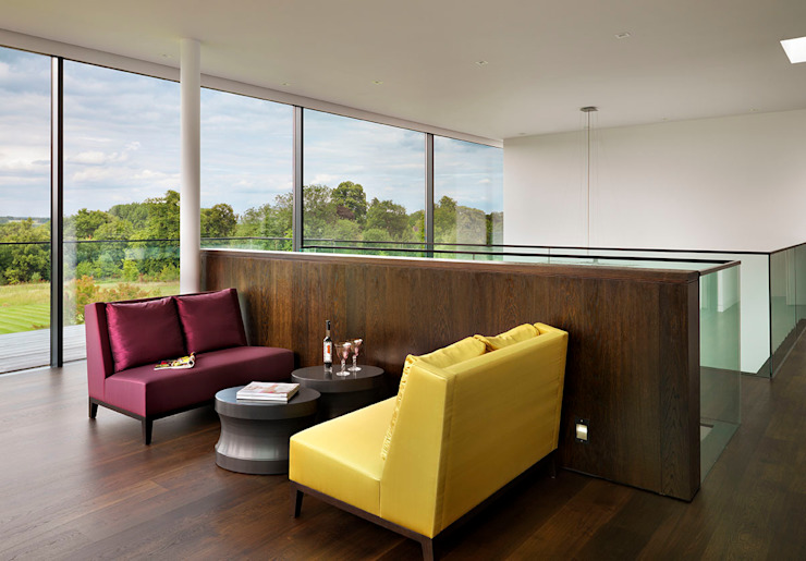Berkshire 现代客厅設計點子、靈感 & 圖片 根據 Gregory Phillips Architects 現代風
