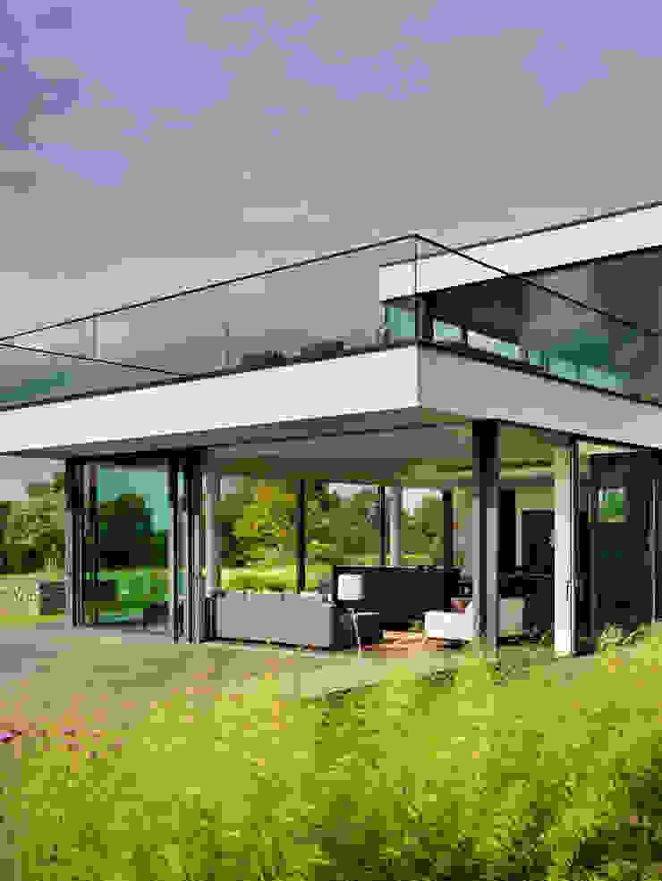 Berkshire 現代房屋設計點子、靈感 & 圖片 根據 Gregory Phillips Architects 現代風