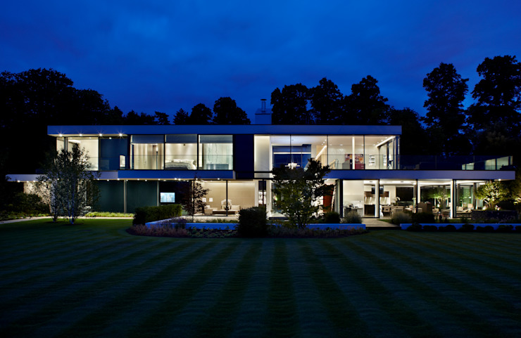 Berkshire Modern home by Gregory Phillips Architects Modern