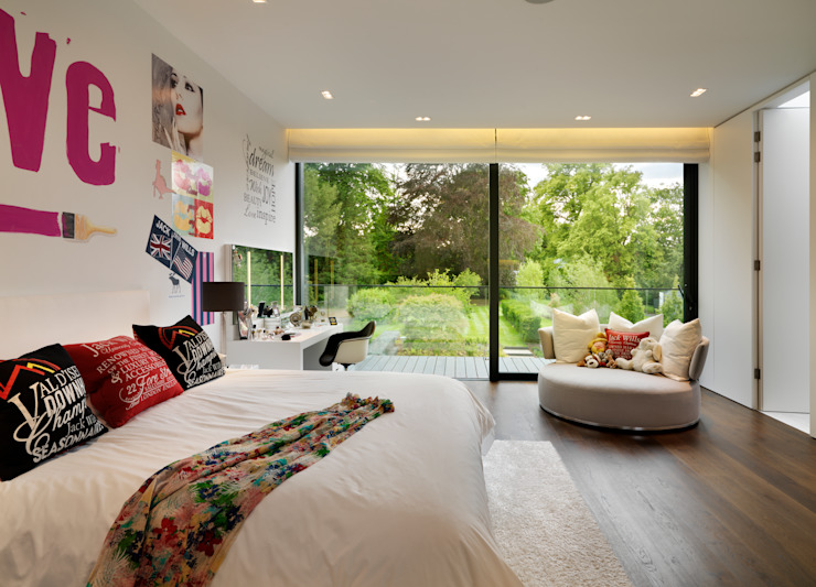 Nursery/kid's room by Gregory Phillips Architects,