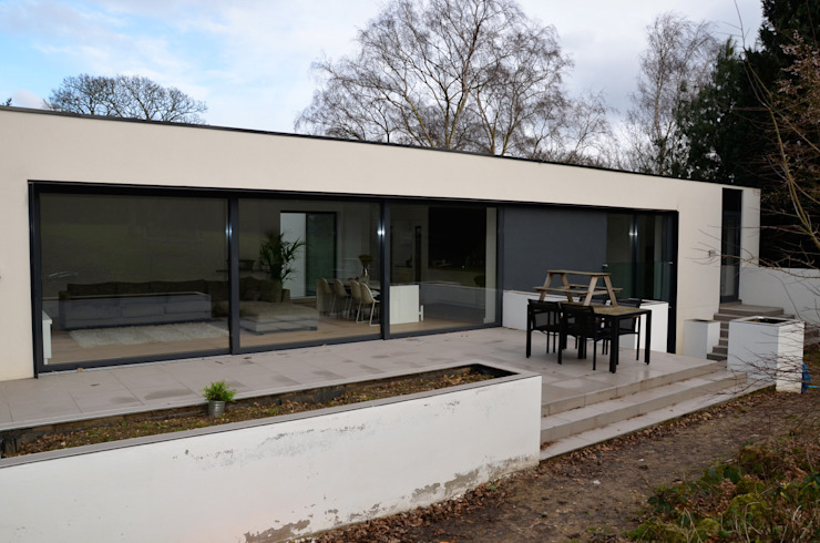 Essex Casas modernas por Gregory Phillips Architects Moderno