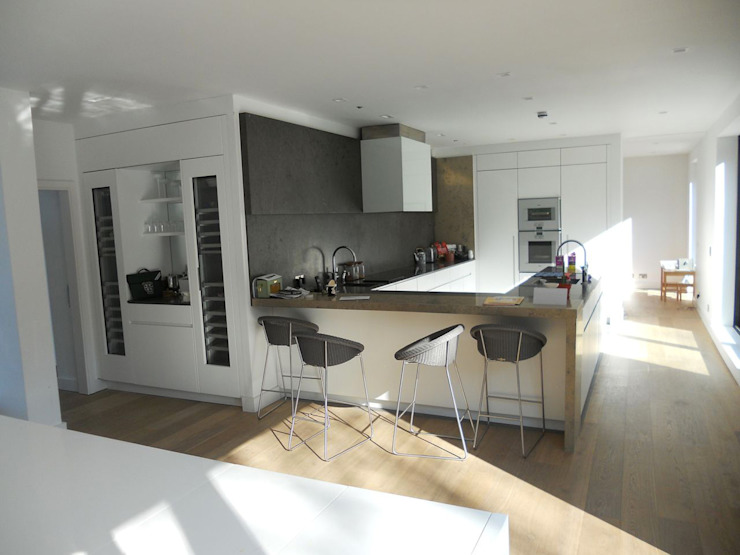 Essex Cozinhas modernas por Gregory Phillips Architects Moderno