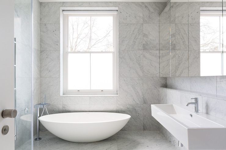 Carlton Hill, London Minimal style Bathroom by Gregory Phillips Architects Minimalist
