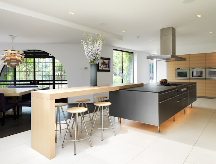 Totteridge Cucina moderna di Gregory Phillips Architects Moderno