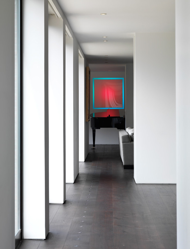 Totteridge Modern corridor, hallway & stairs by Gregory Phillips Architects Modern