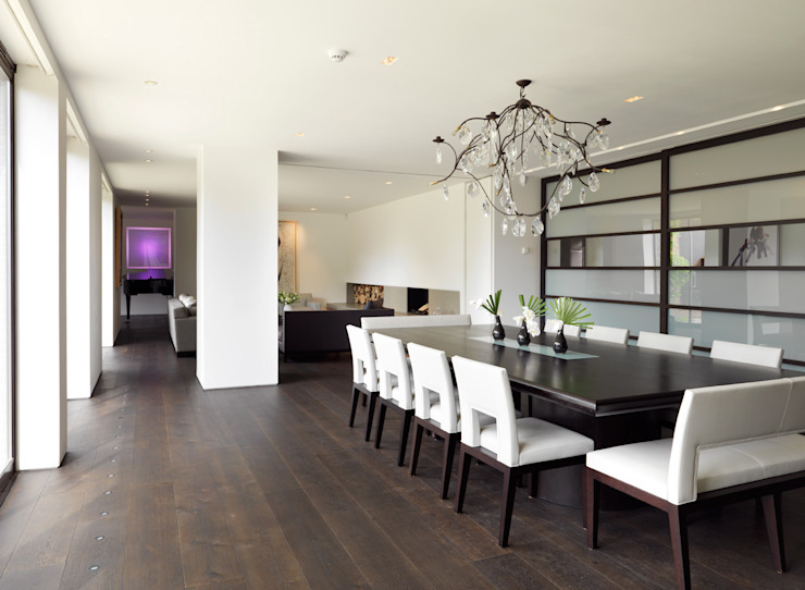 Totteridge Eclectic style dining room by Gregory Phillips Architects Eclectic