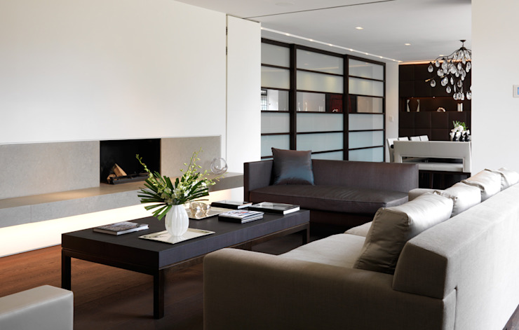 Totteridge Modern living room by Gregory Phillips Architects Modern