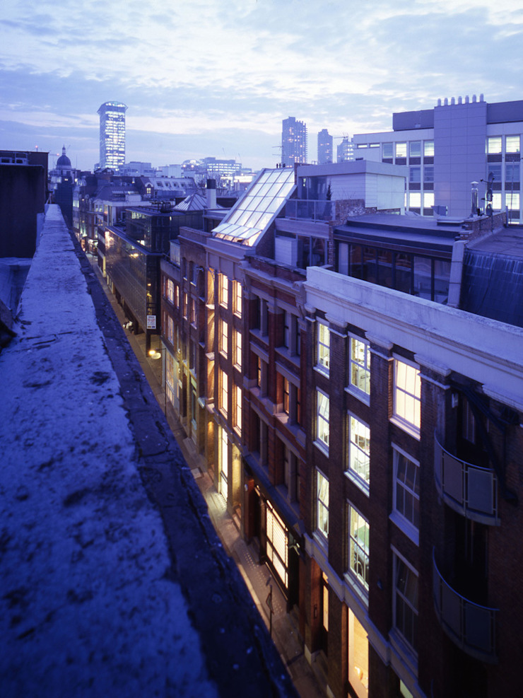 Shoreditch Modern houses by Gregory Phillips Architects Modern