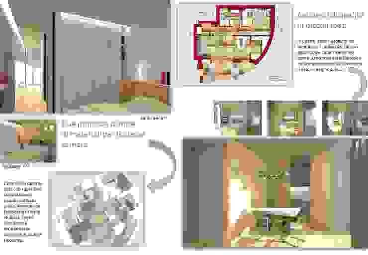 ambienti di qualità in piccoli spazi di Giussani Patrizia Moderno