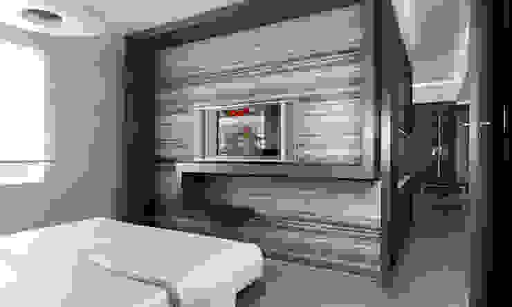Casa M. Camera da letto moderna di studioLO architetti Moderno