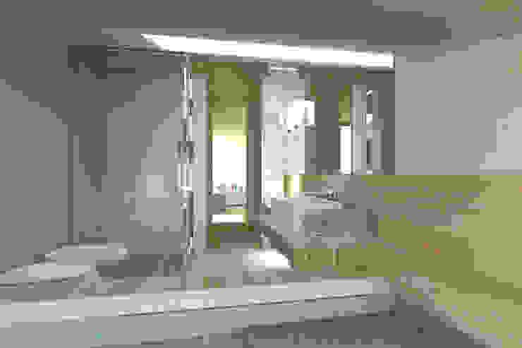 ambienti di qualità in piccoli spazi Bagno moderno di Giussani Patrizia Moderno