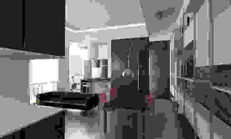 Casa M. Sala da pranzo moderna di studioLO architetti Moderno