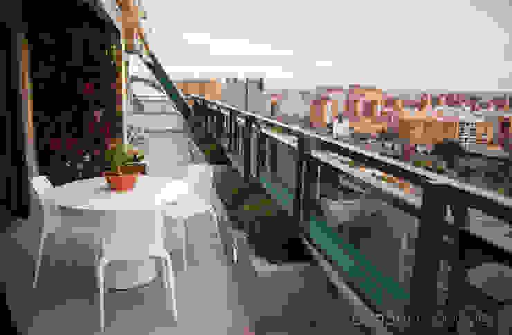 Jardín vertical en Valencia. de Ideas Interiorismo Exclusivo, SLU Mediterráneo