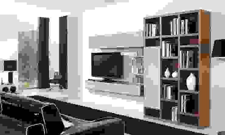 Composición de televisión VII de MUMARQ ARQUITECTURA E INTERIORISMO Moderno
