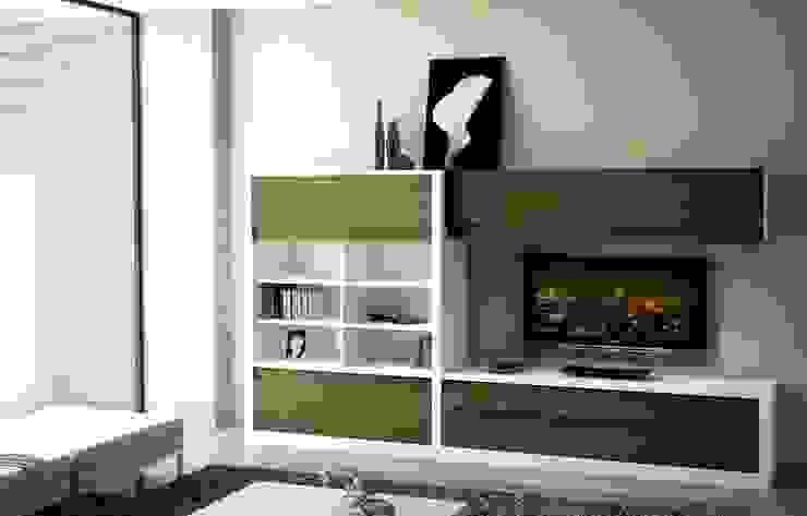 Composición de televisión VI de MUMARQ ARQUITECTURA E INTERIORISMO Moderno