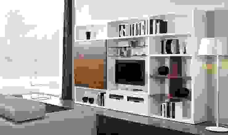 Composición de televisión V de MUMARQ ARQUITECTURA E INTERIORISMO Moderno
