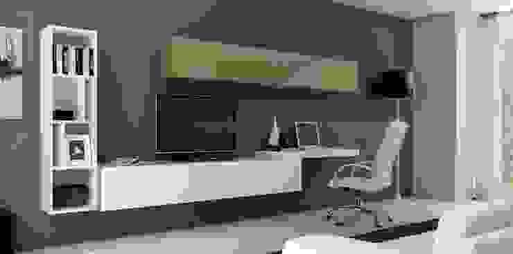 Composición de televisión IV de MUMARQ ARQUITECTURA E INTERIORISMO Moderno
