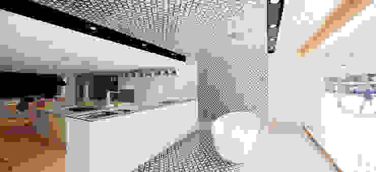 Oficinas y Tiendas de estilo  por Anna & Eugeni Bach