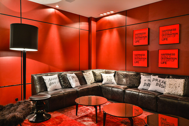 CASA COR 2014 Salas de estar modernas por Bender Arquitetura Moderno