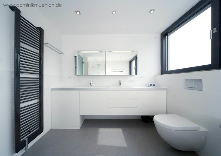 Modern Banyo Architekturbüro Ferdinand Weber Modern