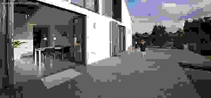 Modern Terrace by Architekturbüro Ferdinand Weber Modern