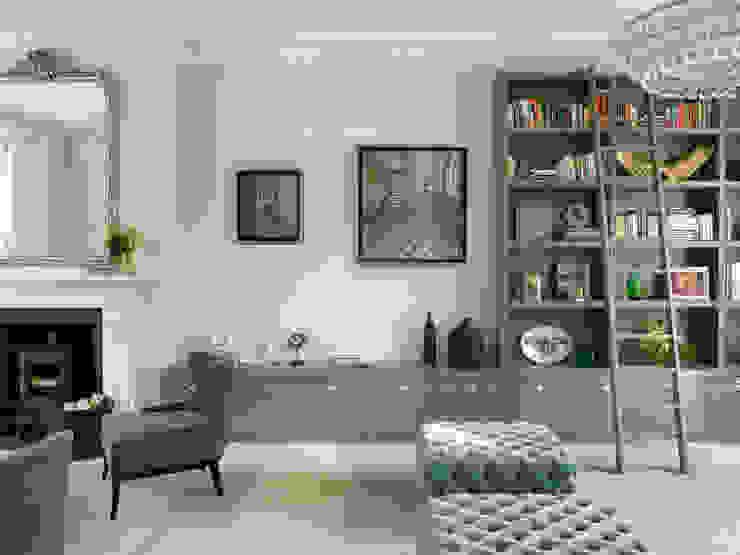 Wimbledon 现代客厅設計點子、靈感 & 圖片 根據 LEIVARS 現代風