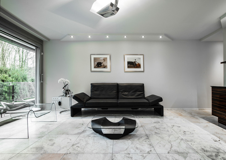 Living room by Pientka - Faszination Naturstein,
