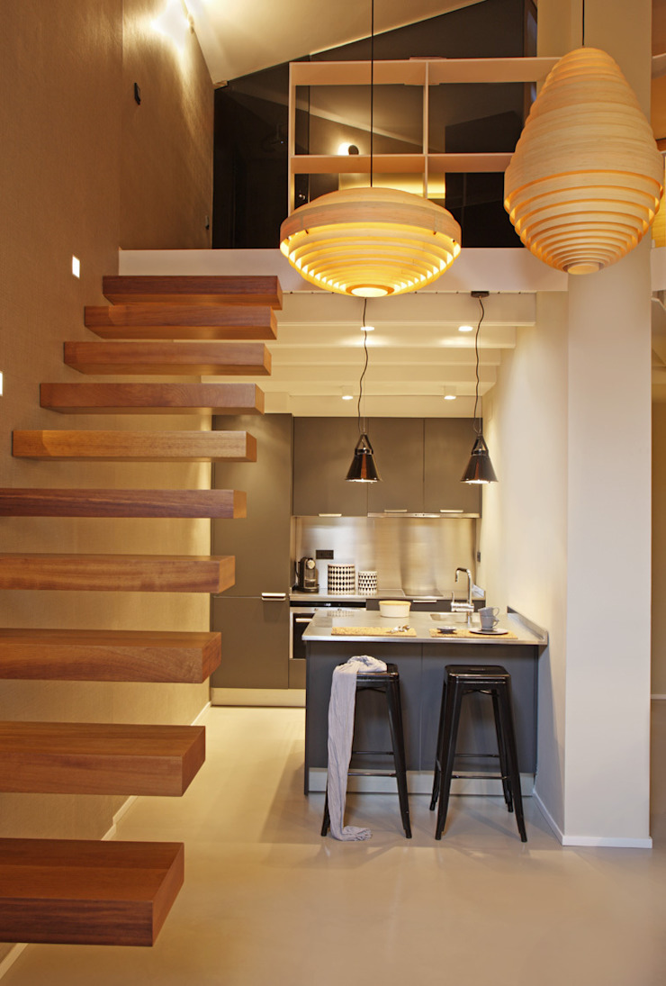 Modern kitchen by The Room Studio Modern