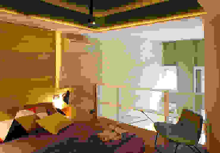 VIVIENDA LES CORTS Dormitorios de estilo moderno de The Room Studio Moderno