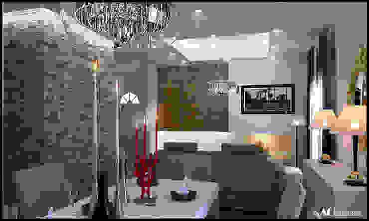 Living Sala da pranzo moderna di AG Interior Design Moderno