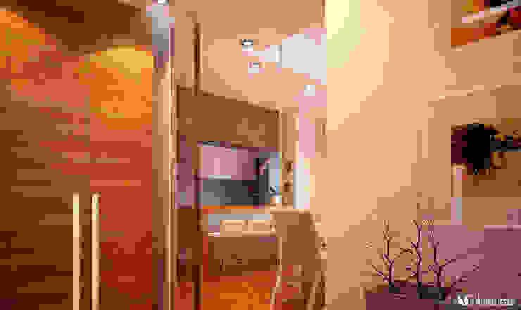 Ingresso_Cucina Cucina moderna di AG Interior Design Moderno